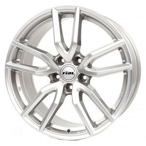 Jante RIAL 6,5x16 Torino 656 argintiu 5x108 ET50 CH63,4
