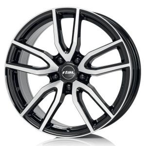 Jante RIAL 6,5x16 Torino 656 negru 5x114.3 ET40 CH70,1